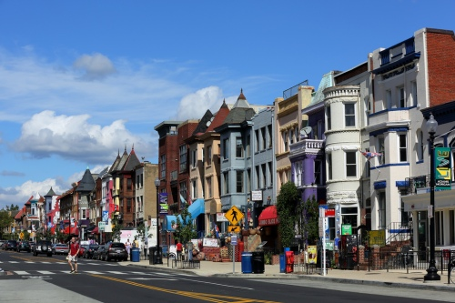18th Street NW in the Adams Morgan neighborhood.
