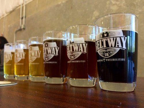 Beltway Brewing Company Flight